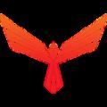 Red Pulse Phoenix (PHX) logo