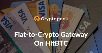 Buying Crypto With a Bank Card on HitBTC