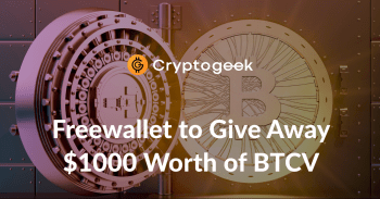 Freewallet Is Giving Away $1,000 Worth of BTCV