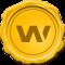 WAX (WAX) logo