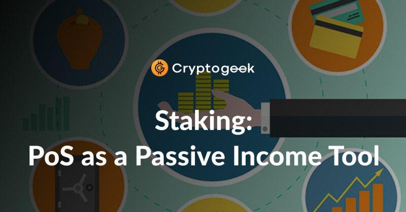 Staking: pro e contro del Proof of Stake (PoS) come strumento di reddito passivo