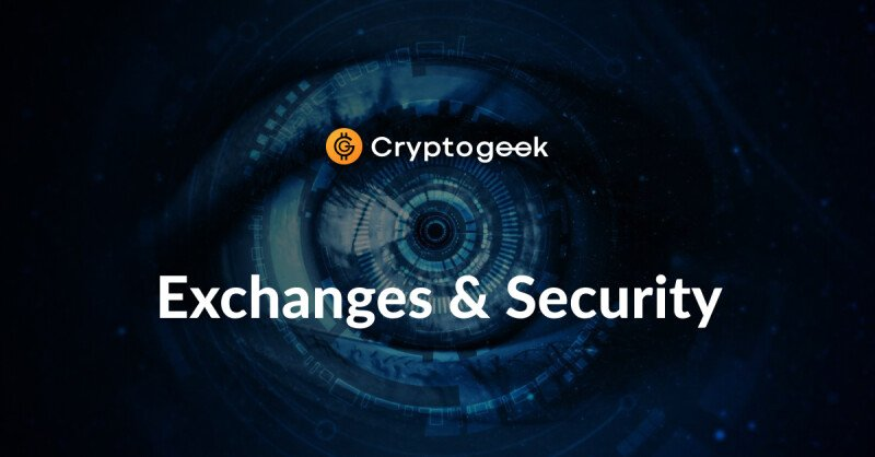 How do exchanges insure the funds of their users?