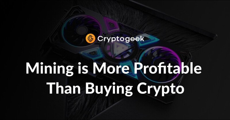 Jihan Wu: investing in mining is more profitable than just buying cryptocurrencies