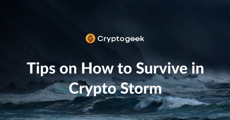 How not to drown in a crypto storm - 5 rules for 2020