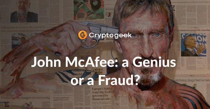 John McAfee Net Worth 2020