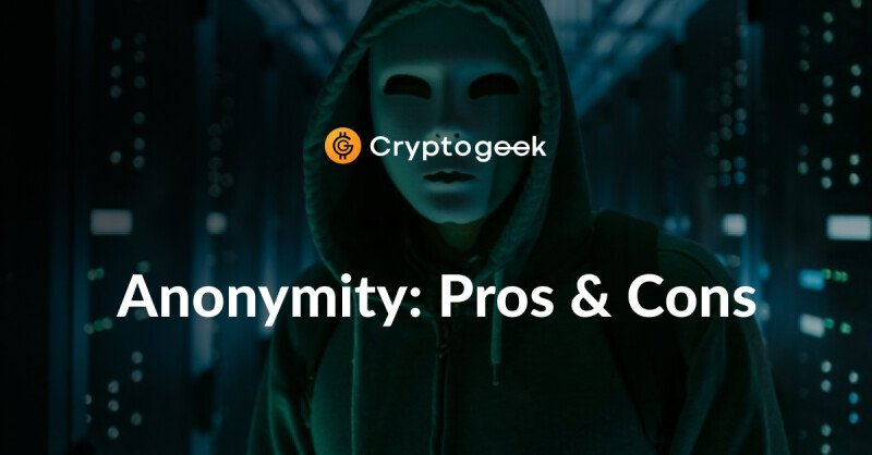 Exchanging Cryptocurrencies Anonymously. Pros and Cons