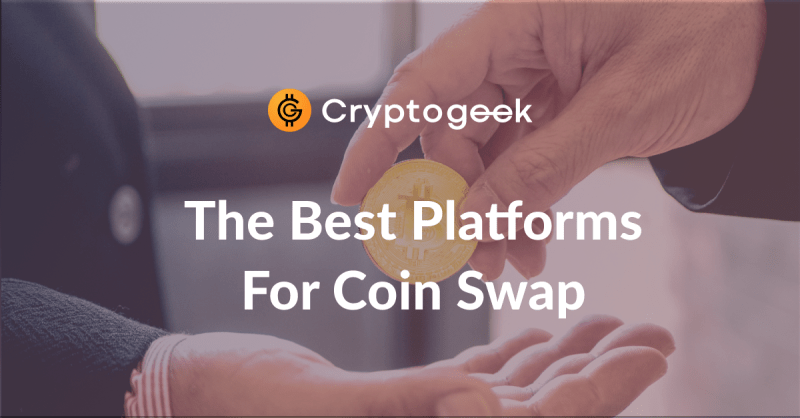 Top 5 Services For Instant Crypto Swaps - Full Review 2021