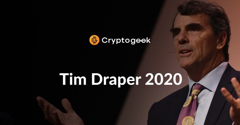 Tim Draper Net Worth 2020 — The Richest VC Who Moved From Stocks to Crypto