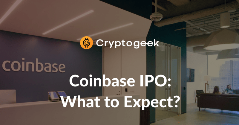 Tutto quello che c'è da sapere su Coinbase IPO / da Cryptogeek