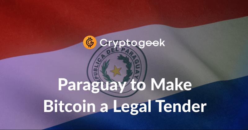 ビットコインは7月にパラグアイで法定通貨になる