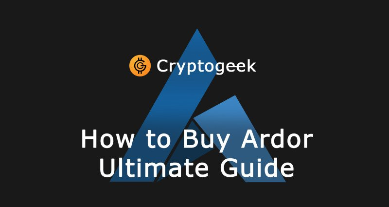 Como Comprar Ardor (ARDR) - Guia Final por Cryptogeek