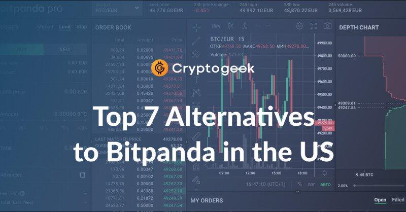 最佳7BitPanda替代品可在美国|通过Cryptogeek