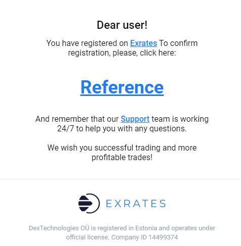 exrates scambio crypto