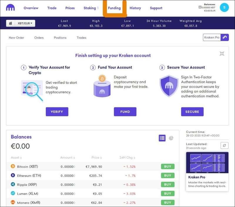 deposito bitcoin da coinbase a kraken