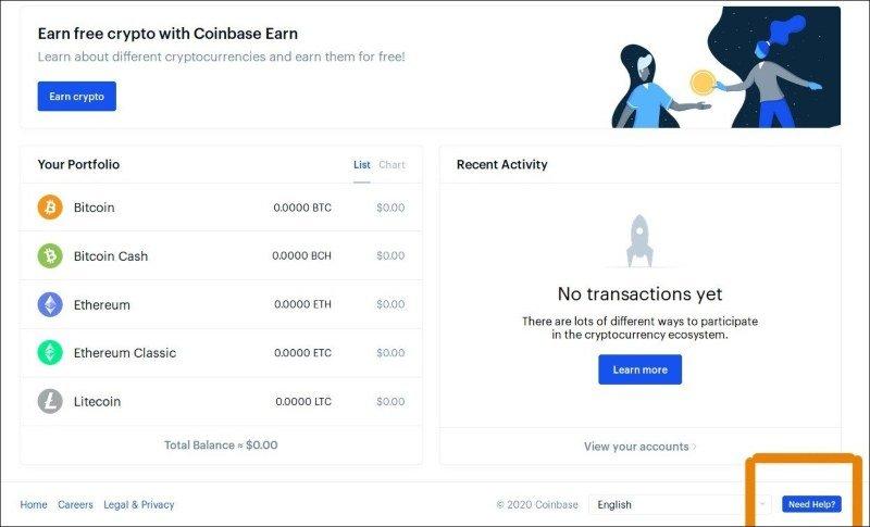 come depositare bitcoin da coinbase a kraken)