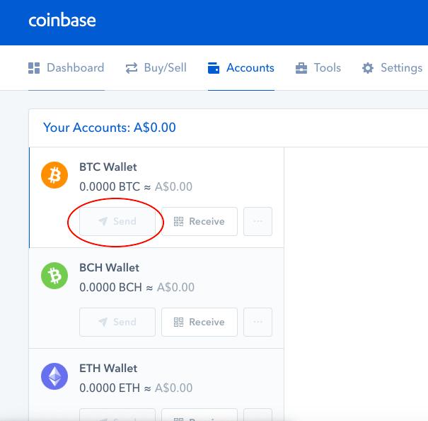 Billigste Art, Crypto von Coinbase in Kucoin zu senden