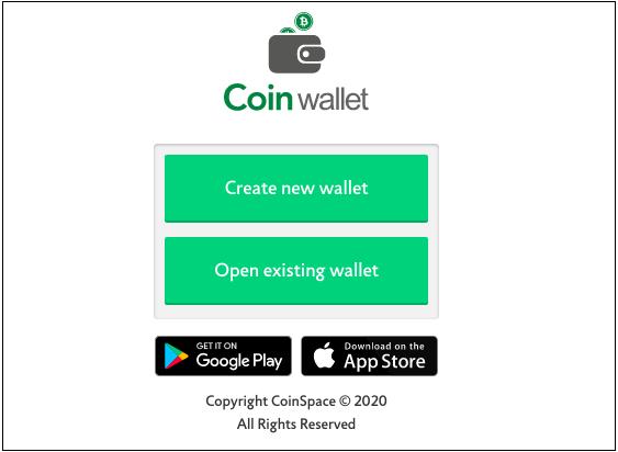portafoglio bitcoin coinspace)