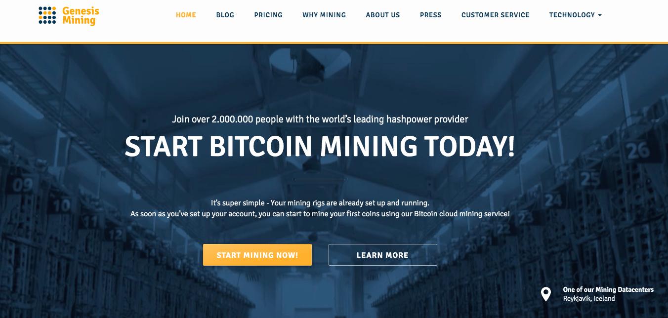 genesi bitcoin recensione mineraria