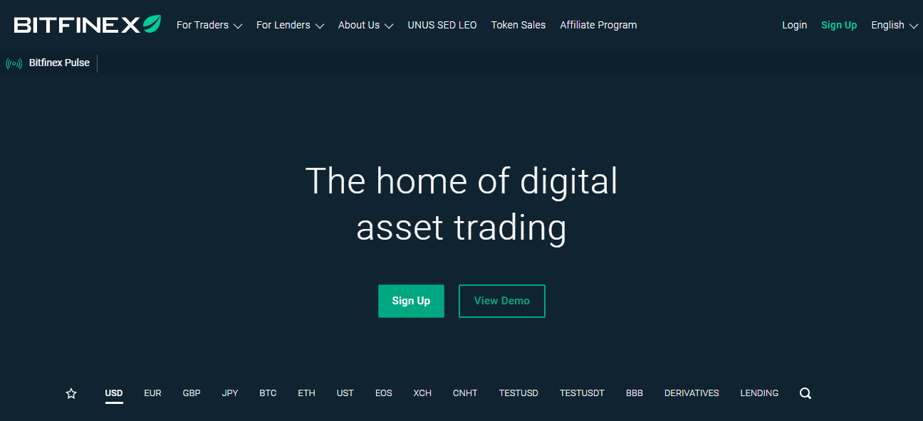 bitfinex margin trading btc